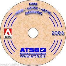 Ford AODE 4R70W 4R75W ATSG Update Rebuild Manual Transmission Service Overhaul