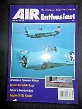 AIR Enthusiast Magazine Historic Aviation CF-100 Airship Fokker Grumman Airplane