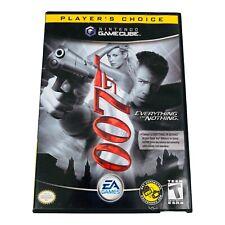 007 Everything or Nothing PC Nintendo GameCube James Bond Game No Manual