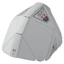 Midori Safety Folding Disaster Prevention Helmet TSC - 10 Flatmet Flat Met White