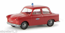 "Trabant P 50 ""Fire brigade"", TD, H0 Car Model 1:87, Brekina 27517"
