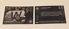 Barack Obama & Chicago Cubs 2017 Topps Now OS-43 1/16/2017 World Series Flag