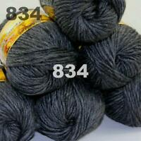 5 Colors SOLO Mohair Yarn 97/% Wool 3/% Nylon 50 gm//75m Made in Italy