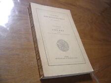 1947 CONGRES ARCHEOLOGIQUE DE FRANCE 1947 en Souabe CVe Session ARCHEOLOGIE