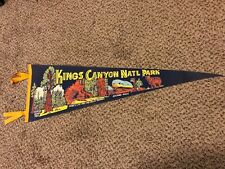 "27"" Vintage Kings Canyon National Park Pennant"