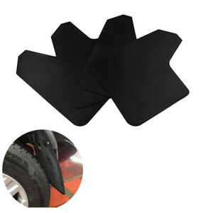 4x Moulded Universal Mud Flaps Mudflaps Front Rear For Car SUV Accessories