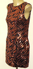 WILD ORCHID SleevelessSequinMiniParty Size10NWoT