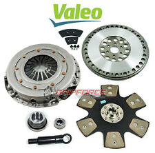 VALEO KING COBRA STAGE 4 CLUTCH KIT + 17LBS SPORT FLYWHEEL MUSTANG GT LX5.0 302""