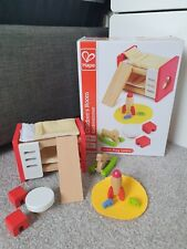Hape Wooden Doll's House Furniture Children's Bedroom New (Other)