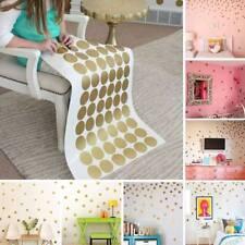 52Pcs Polka Dots Wall Sticker Nursery Stickers Kids Children Wall Decals Decor
