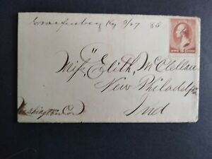 Kentucky: Graefenberg 1885 #210 Cover, Ms, DPO Shelby Co to New Philadelphia
