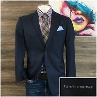 Tommy Hilfiger Mens Sport Coat Blazer Two Button Wool Jacket Size 42R