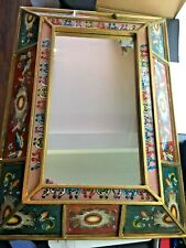 mirror Vintage Chinese hand painted