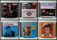 LOT DE 6 CDs JOHNNY HALLYDAY
