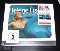 HELENE FISCHER FÜR EINEN TAG LIMITIERTE PLATIN EDITION CD + DVD + MINIPOSTER NEU