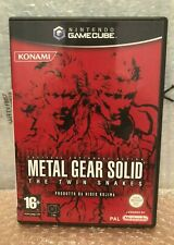 Metal gear solid the twin snakes  ITA game cube - triangolo blu - come nuovo