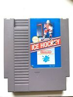 ICE HOCKEY - ORIGINAL Classic NES Nintendo Game Tested + Working Authentic!