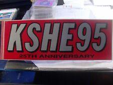 Details about  /K-SHE 95 Real Rock Radio Sticker     K-SHE KSHE  K SHE