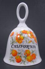 California State Porcelain Orange Blossom Bell