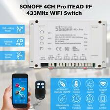 SONOFF 4CH 433MHz RF WiFI Smart Switch Interruttore Intelligente Timer Modulo IT