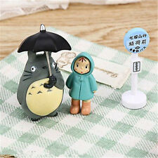 Totoro Figurine Japanese Collection Kids Cartoon Toys Studio Ghibli Home Decor