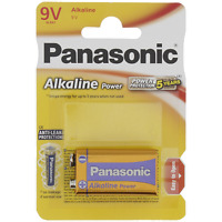Piles Panasonic 9V alcaline power plus