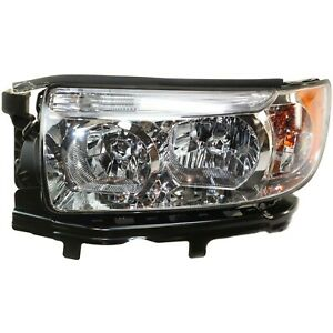 Headlight For 2006 2007 2008 Subaru Forester Wagon Left With Bulb
