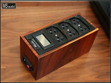 MS Audio TP1000 Wood Housing 6 Outlet Power Distributor ( US Receptacle)