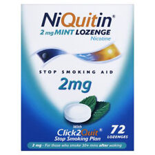 NiQuitin MINT 2mg Lozenges 72 X 3 Boxes CHEAPEST