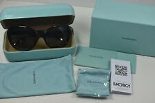 *NEW Tiffany & Co Blue Heart Cat Eye Black Frame Sunglasses TF40088 8001/3F MINT