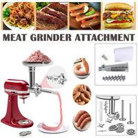 Food Meat Grinder Slicer Shredde Juicer Attachment For Kitchenaid Stand Mixer US