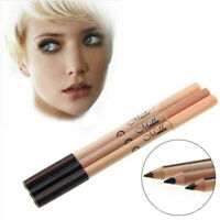 Double-end 2 in1 Waterproof Make Up Eyebrow Pen + Foundation Pencil Conceal W5J1