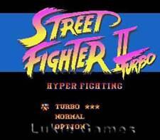 Street Fighter II 2 Turbo - SNES Super Nintendo Game