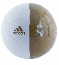 adidas Capitano 2019 - 2020 Soccer Ball Real Madrid Edition White Gold Size 3