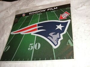 """NEW ENGLAND PATRIOTS MINUTEMAN PERFORATED DECAL 11.5"""" DIE CUT LOGO FOR CAR NEW"""