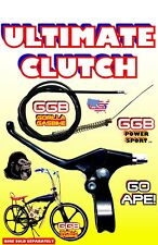 Complete 2-Stroke 49cc/50cc/80cc Clutch Lever And Cable For Motorized Bike Kit