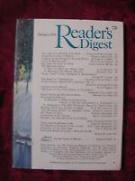 Readers Digest February 1976 Houdini James Michener Julius Erving Shah of Iran