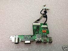 HP Pavilion DV4000 Audio VGA S-Video USB Board W/cable 04500-2  384625-001