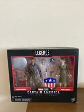 Marvel Legends 80th Aniversary Avengers Captain America and Peggy Carter