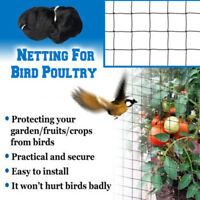 Crops  Garden Yard Orchard Protect Preventing Mist Anti-bird Net Bird Mesh~