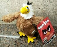 NEW Angry Birds 2 Movie MIGHTY EAGLE Plush Stuffed Doll Figure Toy Rovio Game