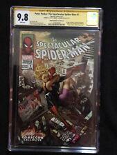 Spectacular Spider-Man 1 CGC 9.8 SS Cover D J Scott Campbell & Sabine Rich 2X