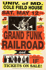 GRAND FUNK RAILROAD 40.6cm x 30.5cm PHOTO REPRO CONCERT AFFICHE