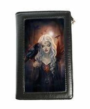 Caszmy Purse/Wallet featuring 3D image of Ravenkin