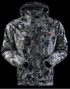 Sitka Stratus Forest Hunting Camo Jacket-XL