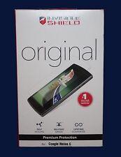 Zagg Invisible Shield Original Premium Pantalla Protección para Google Nexus 6-Nuevo