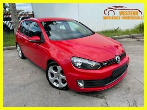 2010 Volkswagen Golf VI GTI Hatchback 3dr DSG 6sp 2.0T [MY10] Red Automatic A