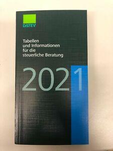DATEV Tabellen & Informationen für die steuerliche Beratung 2021