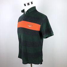 B94 Polo Sport Ralph Lauren Mens M 90's Color Block S/S Polo