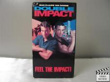 Double Impact VHS Jean-Claude Van Damme
